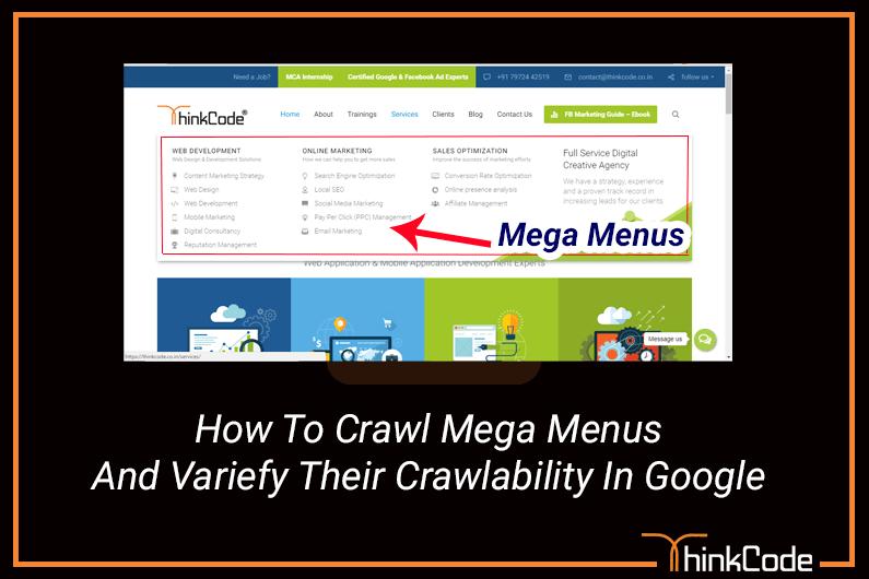 How to Crawl Mega Menus and Verify Their Crawlability in Google