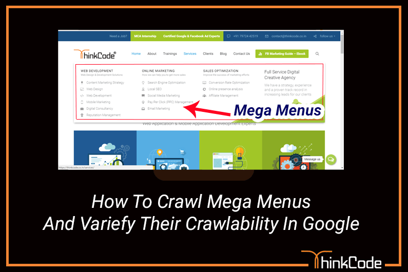 How to Crawl Mega Menus and Verify Their Crawlability in Google
