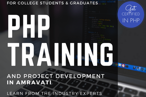 PHP Training In Amravati | PHP Training And Project Development { New Batch }