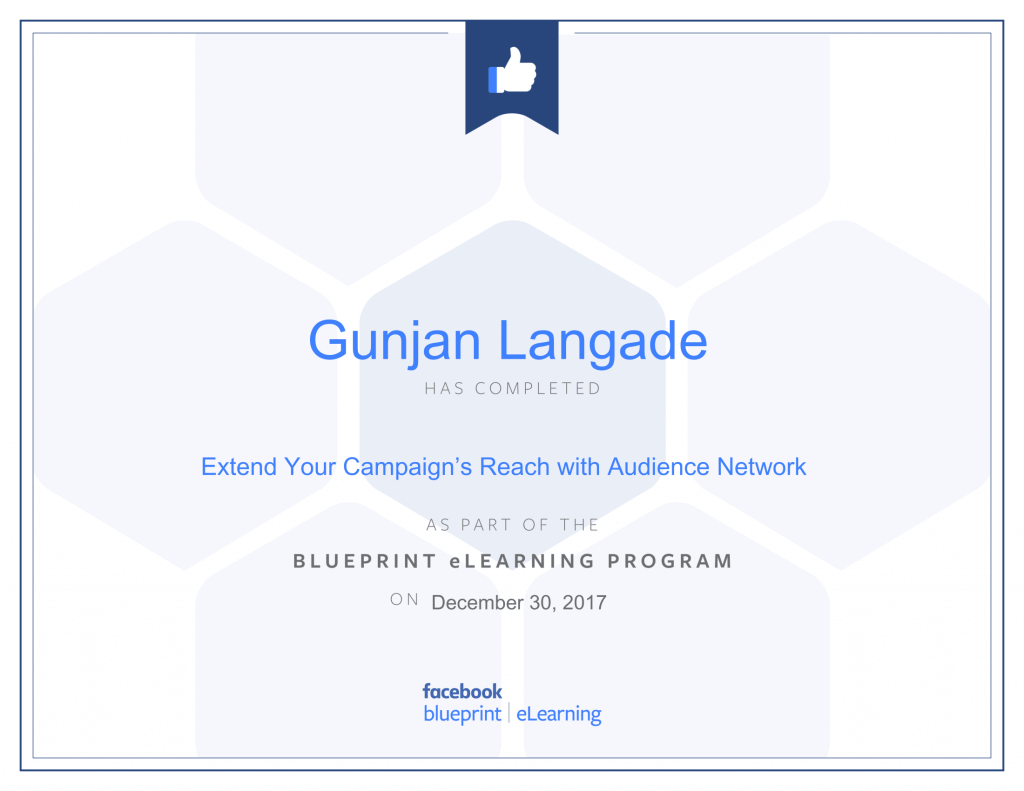 Extend your Campaign Reach with Audience Network By Gunjan Langade at ThinkCode