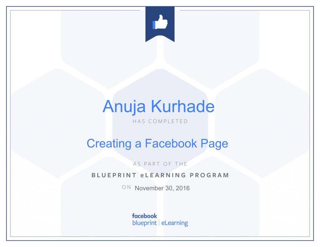 Facebook Blueprint Certifications- Anuja Kurhade (5)
