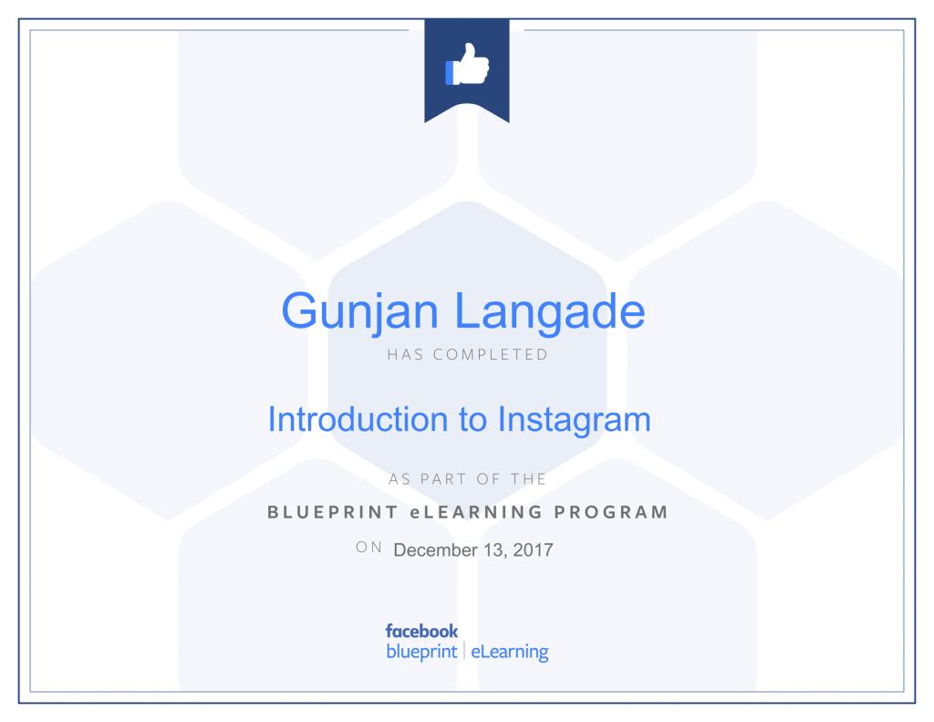 Introduction to Instagram By Gunjan Langade at ThinkCode