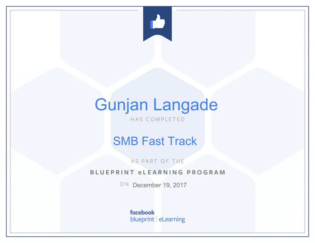 SMB Fastrack By Gunjan Langade at ThinkCode