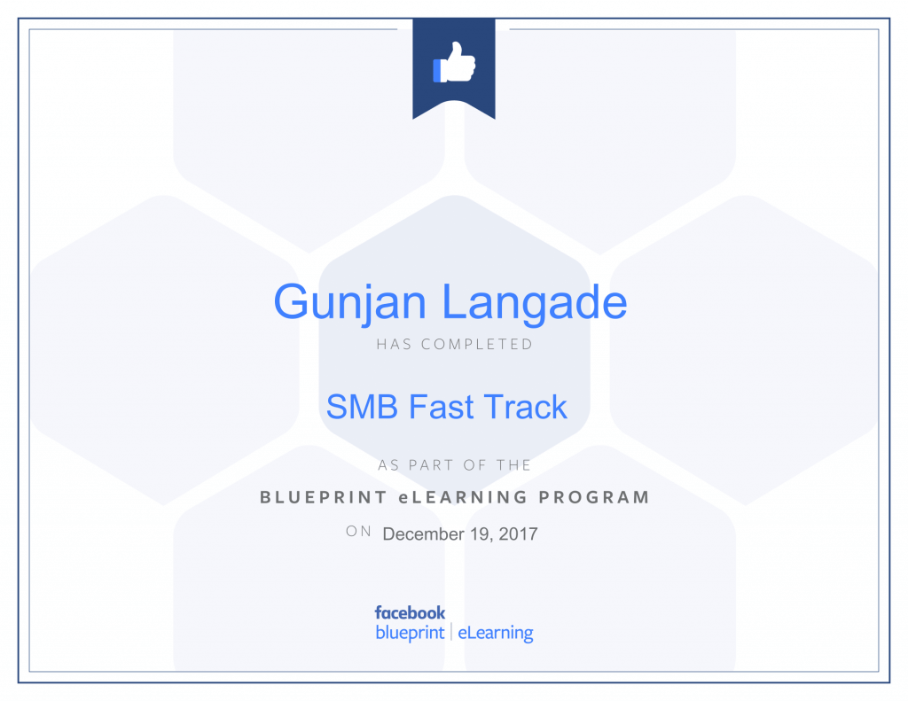 SMB Fastrack By Gunjan Langade at ThinkCode